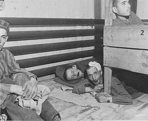 Survivors In The Infirmary Barracks For Jewish Prisoners