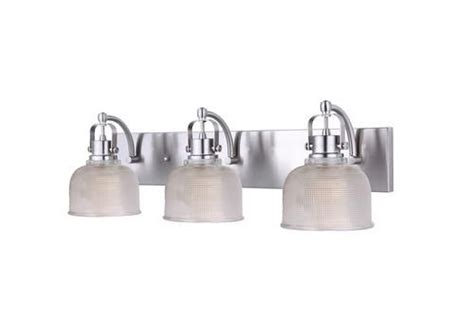 patriot lighting dynasty brushed nickel 25 quot 3 light vanity