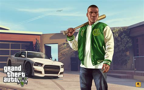 New Gta V Artwork Celebrates Anniversary