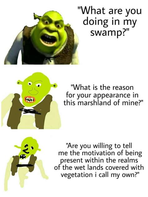 Verbose Memes - mah swamp increasingly verbose memes know your meme
