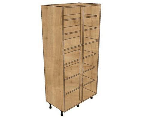 1000 Shelved Larder Cabinet (1970mm High)  Bestq Kitchens