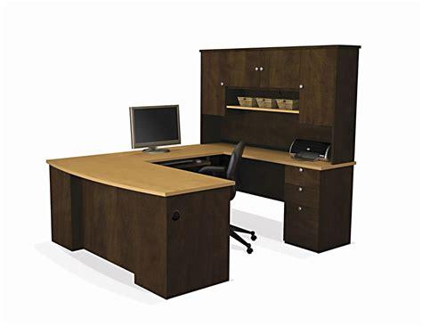 furniture bureau desk executive u desk set office furniture wood large computer