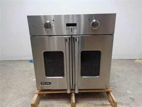door wall oven viking professional 7 series vsof730ss 30 inch single