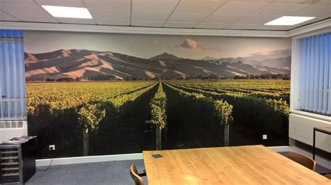 Digital Office Wallpaper by Wall Coverings Sign Services Sign Print By Sign