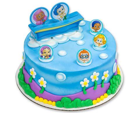 bubble guppies birthday cake kit bubble guppies birthday