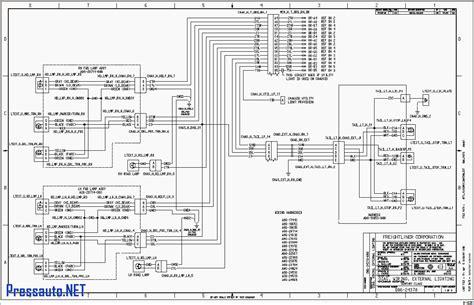 2007 freightliner electrical wiring diagrams freightliner