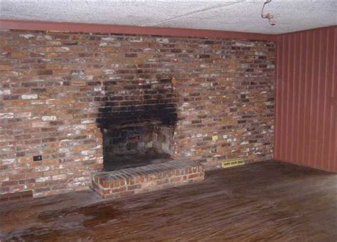 how to clean bricks around fireplace brick fireplace cleaning tips