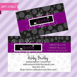 Elegant collection of scentsy business cards business for Scentsy business card template