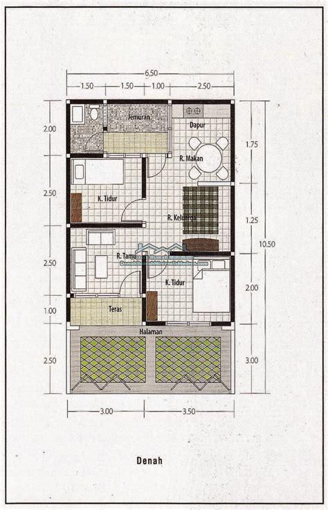 rumah minimalis sederhana  lahan sempit