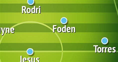How Man City should line up vs Tottenham in Premier League ...