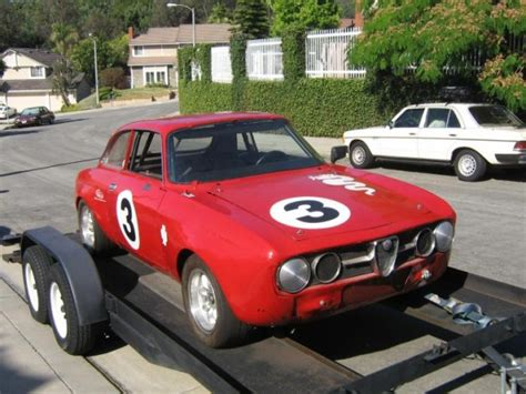 1973 Alfa Romeo Gtv Race Car