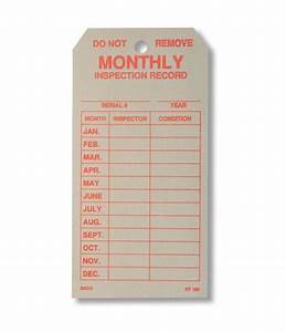 monthly inspection tag fire extinguisher depot With kitchen cabinets lowes with ladder inspection stickers