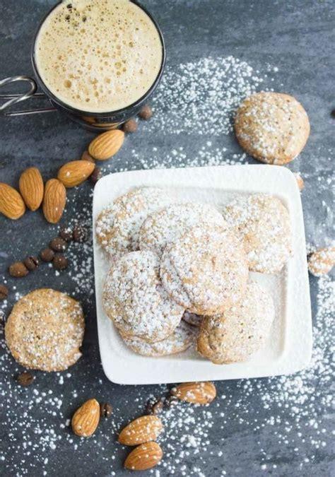 espresso amaretti cookies recipe just a pinch recipes