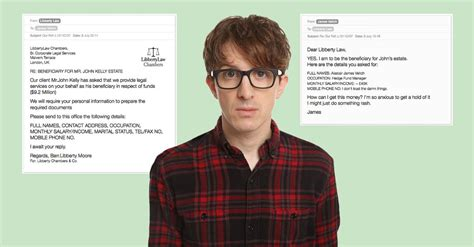 This British Man's Email Exchange With A Scammer Escalated