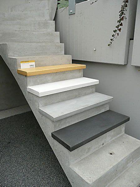 treppenstufen aus beton treppen treppe treppenstufen