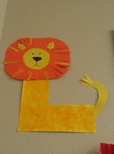 preschool letter  lion preschool letters preschool fun