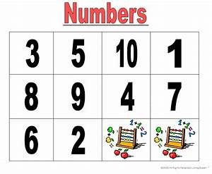 Free coloring pages of with number words 1-10