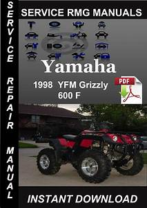 1998 Yamaha Yfm Grizzly 600 F Service Repair Manual