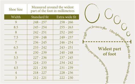 measuring  foot width  cool wide fit shoes shoe size conversion shoes uk