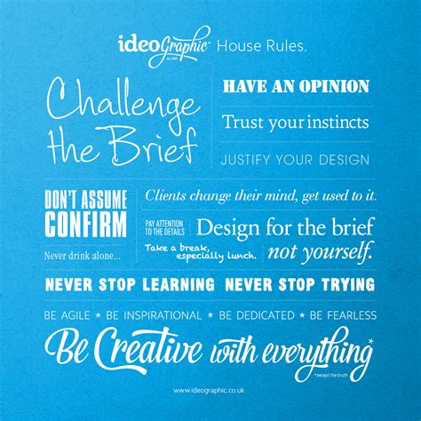Ideographic  Our House Rules