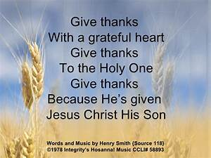 118 Give Thanks
