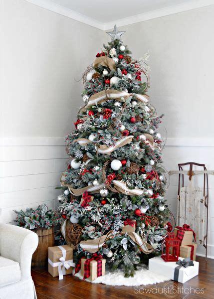 christmas tree decorations  ribbons christmas