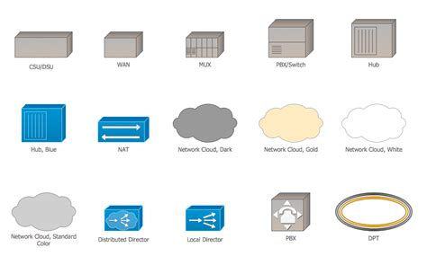 Cisco Network Design Icons Shapes Stencils