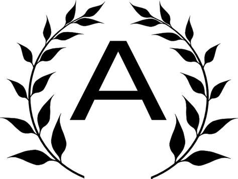 monogram wreath clip art  clkercom vector clip art