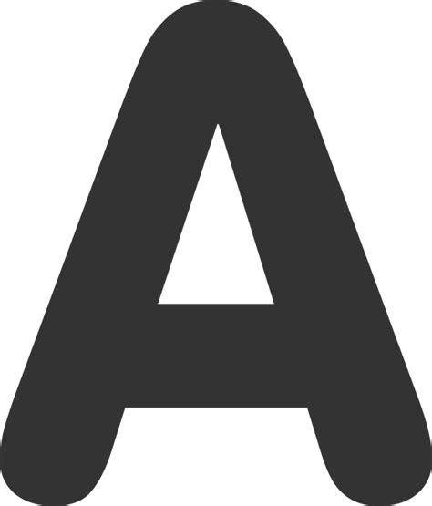 letter a png free vector graphic letter a letter black bold free 37457