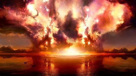 explosionen feuer wallpaper allwallpaperin  pc de