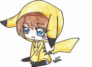 Chibi Pikachu Girl Images & Pictures - Becuo | Chibi girl ...