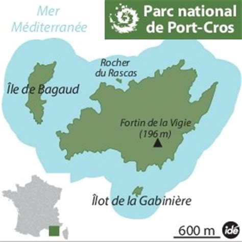 le parc national de port cros en quelques dates la croix