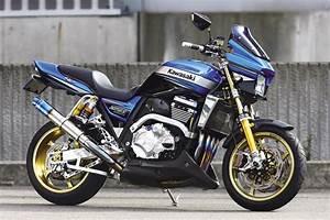 Racing Caf U00e8  Kawasaki Zrx 1200 Daeg By Shabon Dama