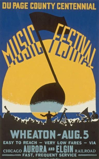 vintage  festival poster  stock photo public