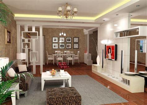 photo simple interior design  living room india