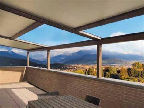 strutture in alluminio per terrazzi strutture mobili per terrazzi