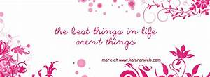 The Best Things In Life Cover - Facebook Timeline Covers