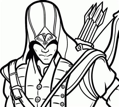 assassins creed  video games printable coloring pages