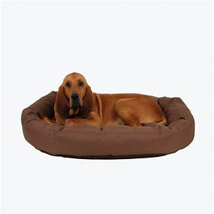 Brutus tuff chew resistant donut dog bed best of dog for Dog keeps chewing bed