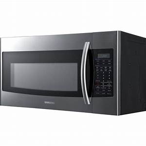 Samsung Smh1816s 1 8 Cu  Ft  Over The Range Microwave With