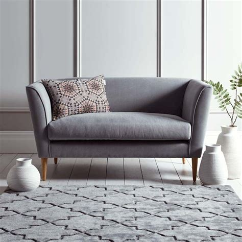 2 Seater Bedroom Sofa by Timsbury Two Seater Sofa In Grey Farmhouse Bedroom