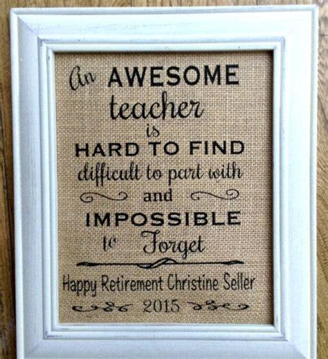 teacher retirement gifts ideas  pinterest