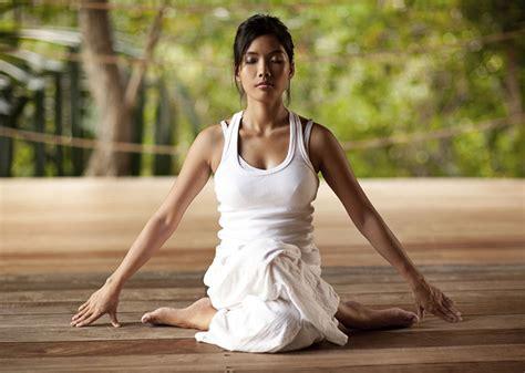 beauty yoga women fitness