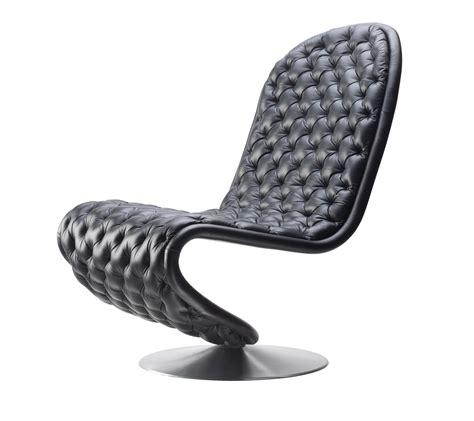chaise verner panton chaises verner panton en cuir pleine fleur de seanroyale