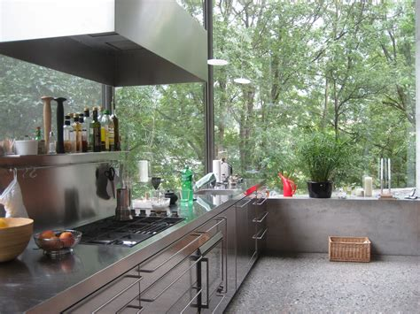Open Natures Window With This Greenery Surrounded Home by Zumthor S Open Airy Kitchen With Walls Of Windows