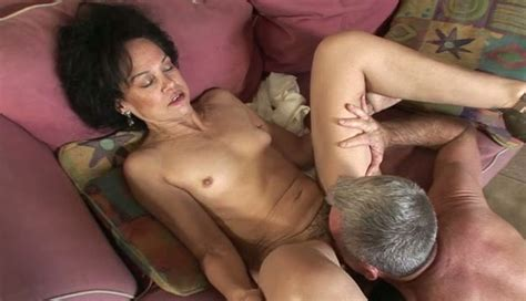 Neat Granny Gets Her Pussy Eaten Out And Fucked Hard