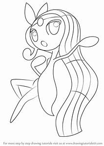 Learn How to Draw Meloetta from Pokemon (Pokemon) Step by ...