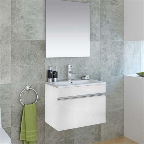 miroir adhesif salle de bain meuble salle de bain 60 cm avec miroir cubo