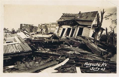 historic  tornado aftermath augusta ks