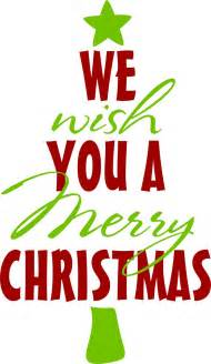we wish you a merry christmas clipart